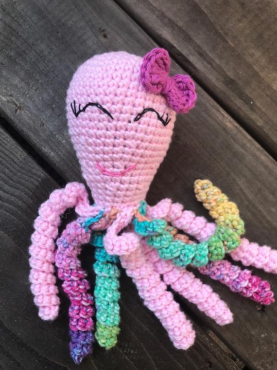 Octopus Octopus Für Frühchen Baby Häkeln Frühchen Krake Etsy