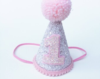 First Birthday Hat Pink