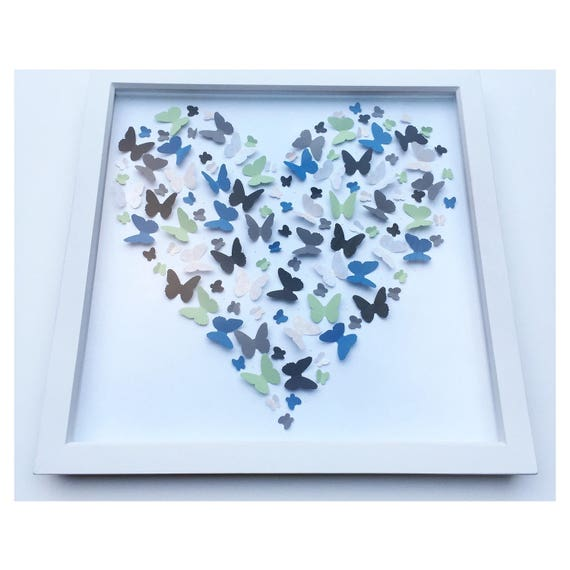 3D Butterfly Wall Art Customise wall decor 3D wall art | Etsy