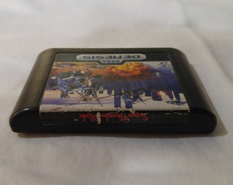 Super Thunder Blade Sega Genesis video game *Cleaned & Tested*