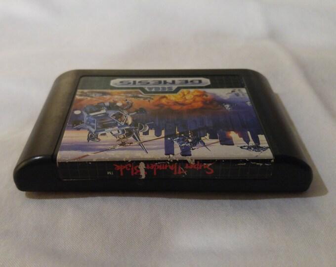 Super Thunder Blade Sega Genesis video game *Cleaned & Tested*