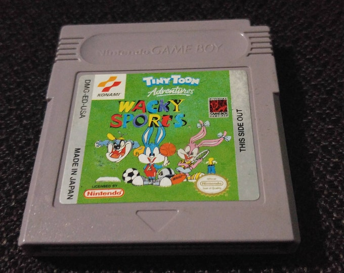 Tiny Toon Adventures Wacky SportsNintendo Gameboy cartridge video game