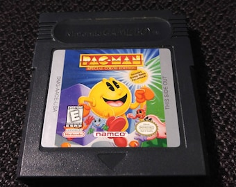 Pac-Man Special Color Edition Nintendo Gameboy cartridge video game