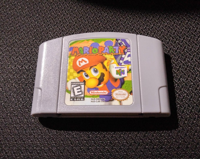 Mario Party N64 Game *Cleaned & Tested* N64