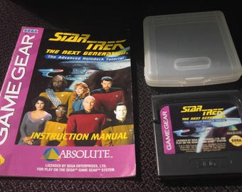 Star Trek The Next Generation Sega GameGear Video game *Cleaned & Tested*