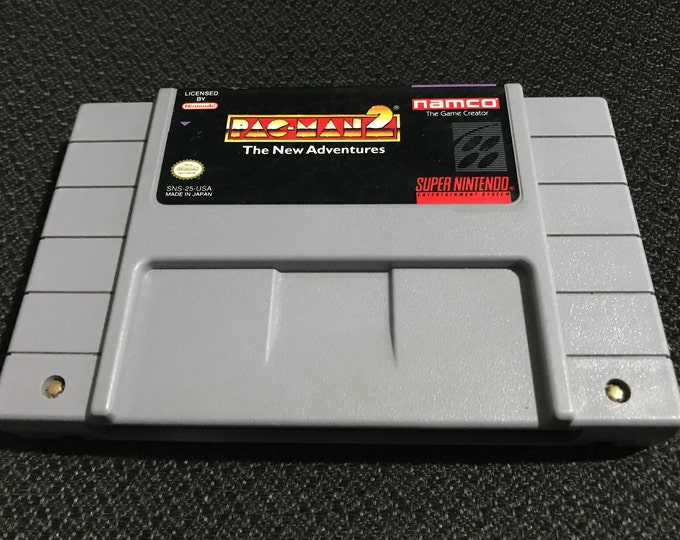 Pac-Man 2 The New Adventures Super Nintendo Entertainment System Game *Cleaned & Tested* SNES