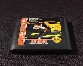 Race Drivin Sega Genisis video game