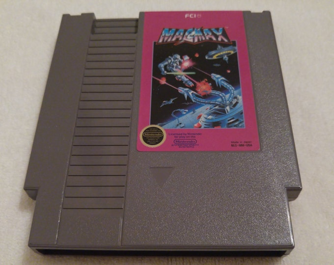 MagMax Nintendo Entertainment System Game *Cleaned & Tested* NES