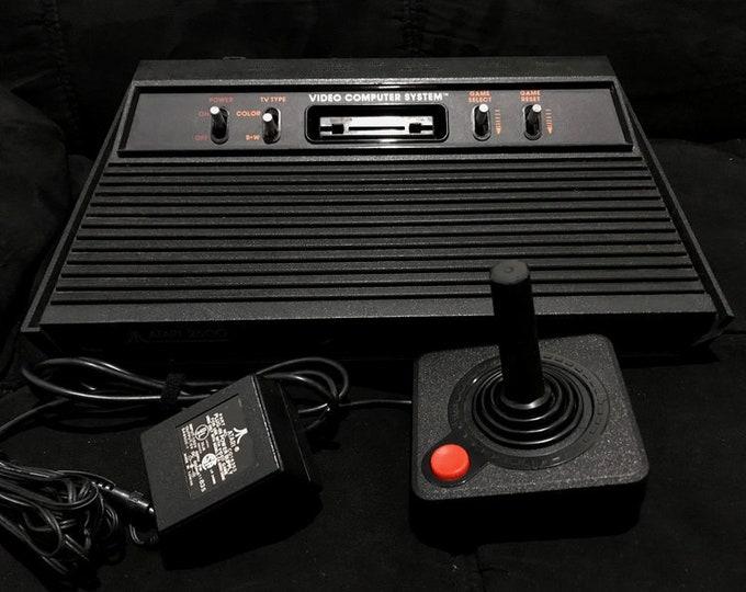 """Atari 2600 """"Darth Vader"""" Gaming System"""
