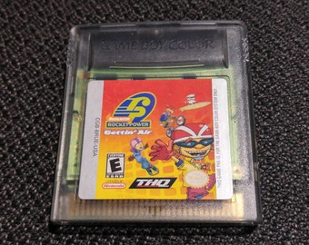 Rocket Power: Getting Air Nintendo Gameboy cartridge video game
