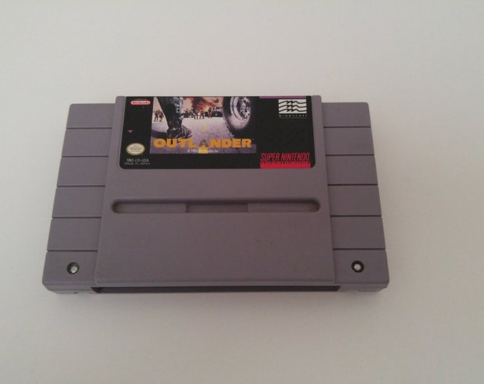 Outlander Super Nintendo Entertainment System Game *Cleaned & Tested* SNES