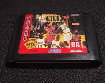 NBA Action 94 Sega Genesis video game