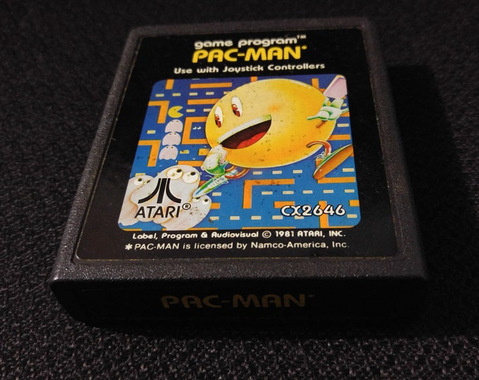 Pac-Man Atari 2600 video game