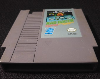 Rad Racer Nintendo Entertainment System Game *Cleaned & Tested* NES