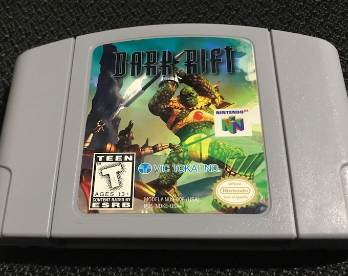 Dark Rift Nintendo 64 Game *Cleaned & Tested* N64