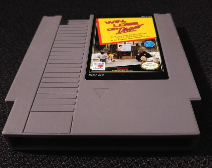 Win Lose or Draw Nintendo Entertainment System Game NES