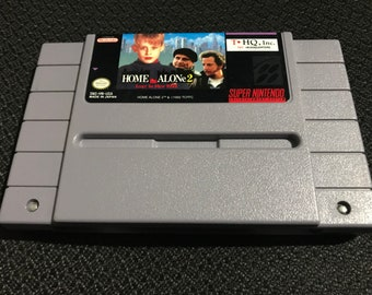 Home Alone 2 Lost in New York Super Nintendo Entertainment System Game *Cleaned & Tested* SNES