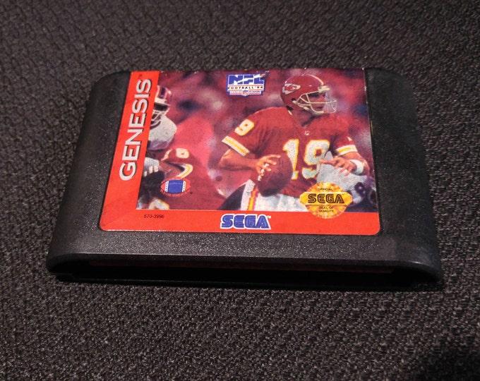 NFL Football 94 Starring Joe Montana Sega Genesis video game