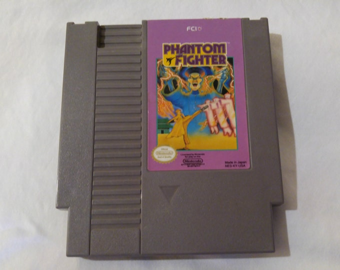 Phantom Fighter Nintendo Entertainment System Game *Cleaned & Tested* NES