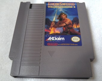 IronSword: Wizards and Warriors II Nintendo Entertainment System Game *Cleaned & Tested* NES