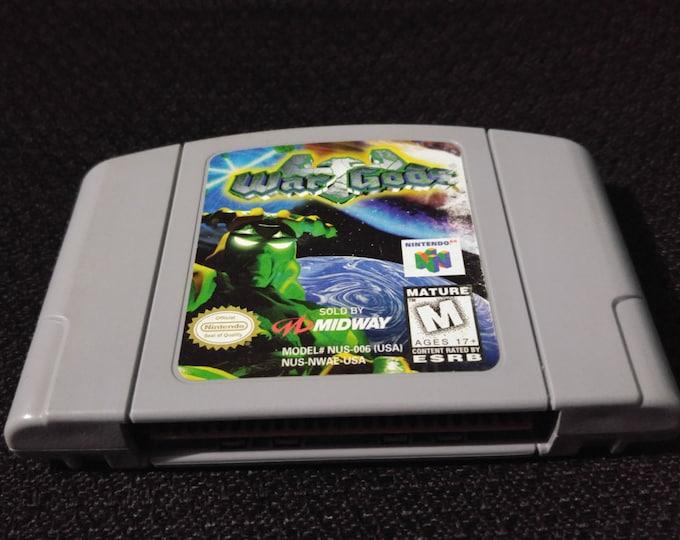 War Gods Nintendo 64 Game *Cleaned & Tested* N64