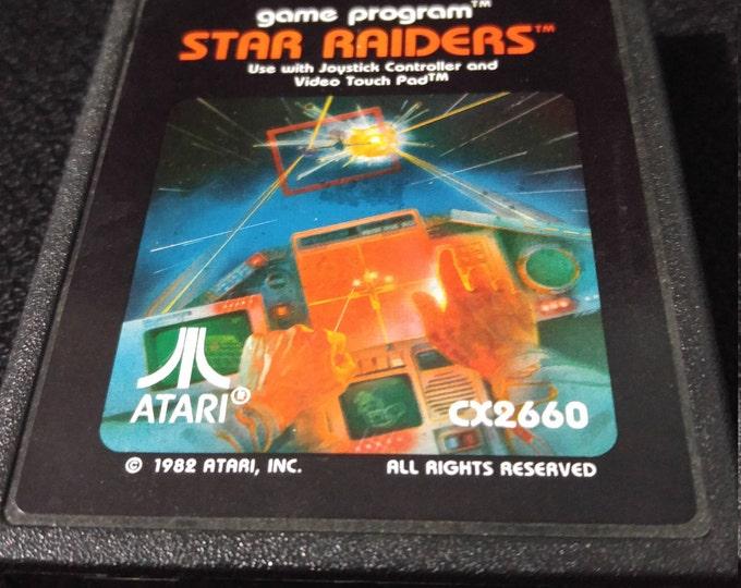 Star Raiders Atari 2600 video game *Cleaned & Tested*
