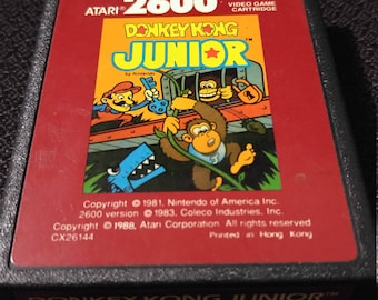 Donkey Kong Jr. Atari 2600 video game *Cleaned & Tested*