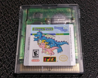 Dragon Tales: Dragon Wings Nintendo Gameboy cartridge video game
