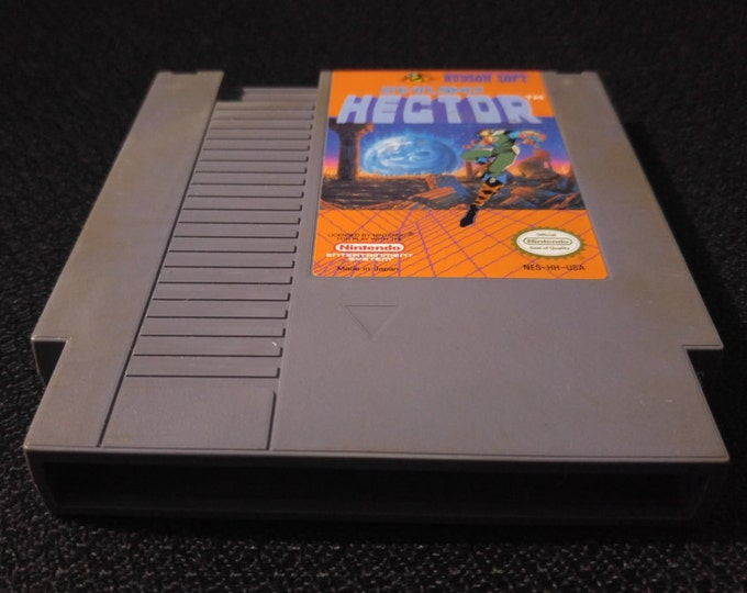 Starship Hector Nintendo Entertainment System Game *Cleaned & Tested* NES