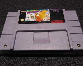 Adventures of Yogi Bear Super Nintendo Entertainment System Game *Cleaned & Tested* SNES