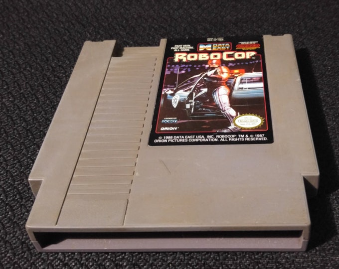 Robocop Nintendo Entertainment System Game *Cleaned & Tested* NES