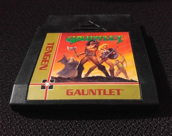 Gauntlet Nintendo Entertainment System Game *Cleaned & Tested* NES