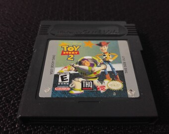 Disney and Pixars Toy Story 2 Nintendo Gameboy cartridge video game