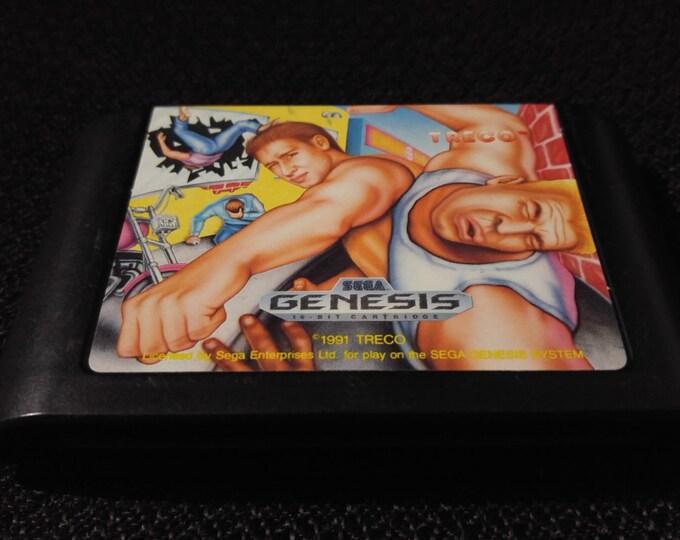 Street Smart Sega Genesis video game *Cleaned & Tested*