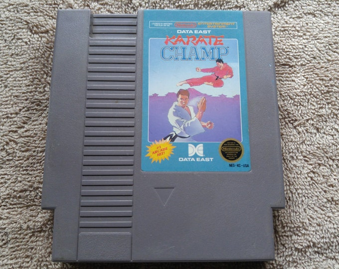 Karate Champ Nintendo Entertainment System Game *Cleaned & Tested* NES