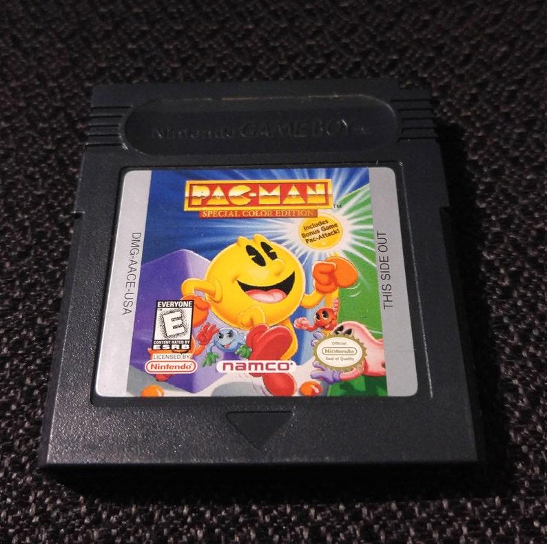 sports shoes fc9da c341a Jeu vidéo Pac-Man spécial couleur édition Nintendo Gameboy   Etsy
