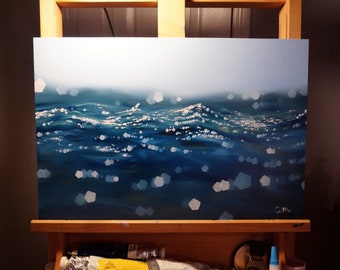 Water Oil Painting PRINT