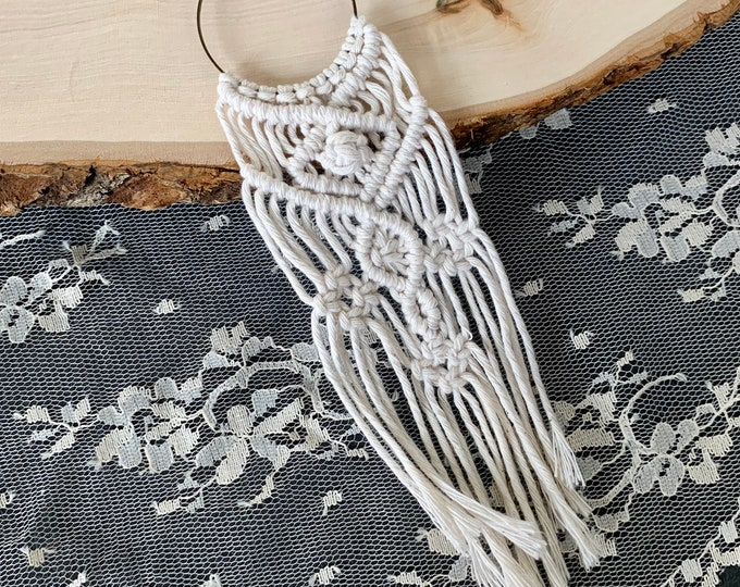 Handmade Macrame Necklace
