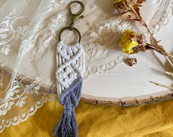Handmade Macrame keychain