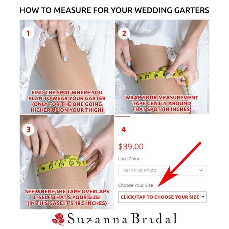 Garter Set Bridal Garter Black Bridal Garter Lace Garte Black Garter Set Gift Black Wedding Garter Handmade Garter Rhinestone Garter