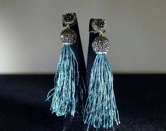 Tassel earrings, Fancy Tassel earrings, Grandbazaar