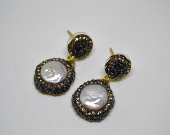Pearl Earrings, Ottoman jewelry, Grandbazaar