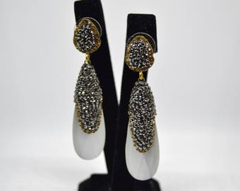 Moonstone Earrings, Turkish earrings