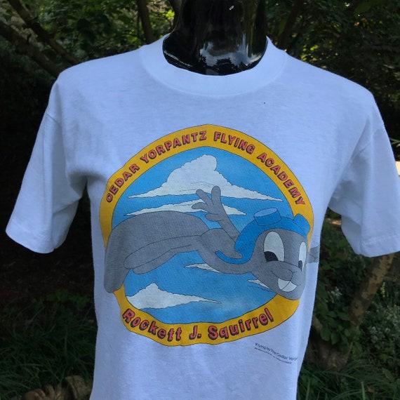 1985 Desantis Rocket J. Squirrel Medium T-Shirt Or