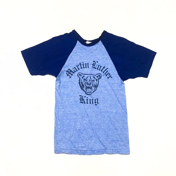 1970's MLK Vintage T-shirt Small High School Shirt