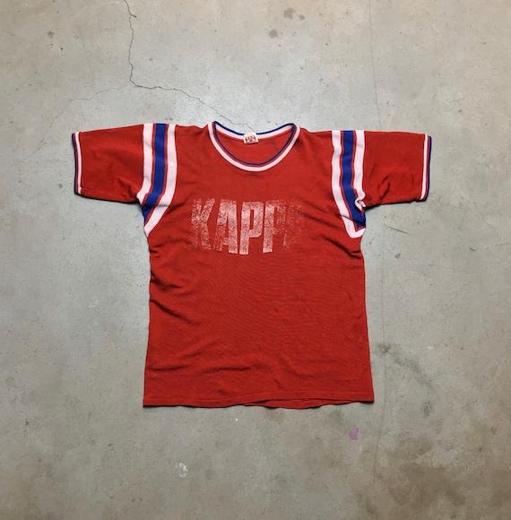 1960's Mason Kappa Nylon T-shirt Vintage Jersey Ts