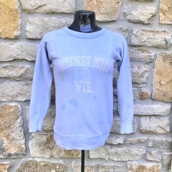 50's 60's Wisconsin Dells Cotton Crewneck Sweatshi