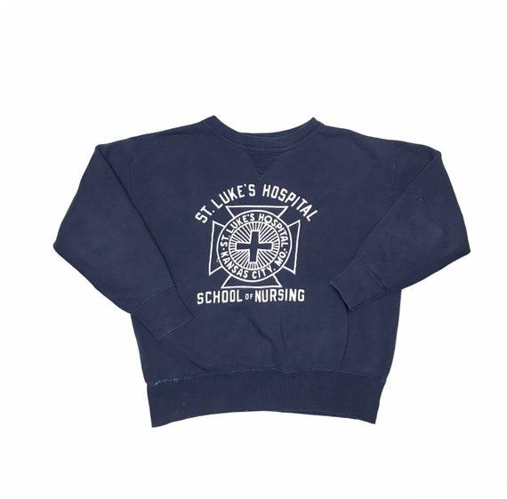 1950's Single V School Of Nursing Sweatshirt St. L