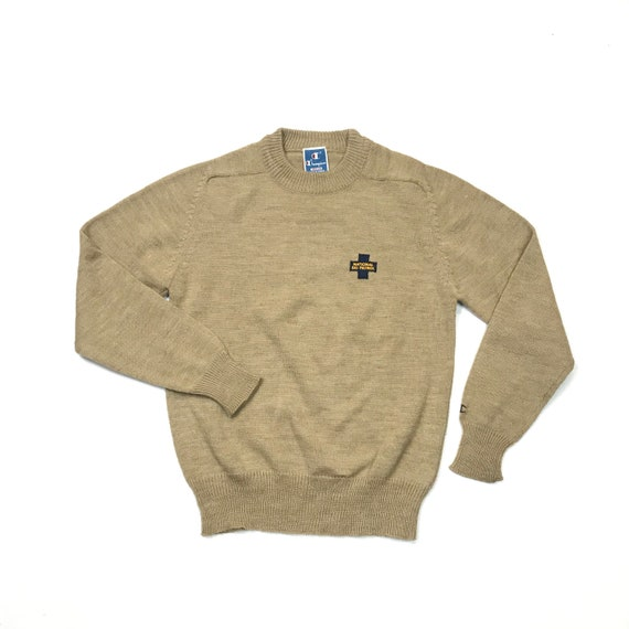 Vintage Champion Ski Patrol Embroidered Sweater 19