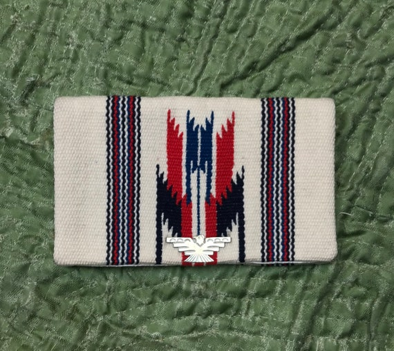 Vintage Ganscraft Chimayo Purse 1940's 50's Thunde